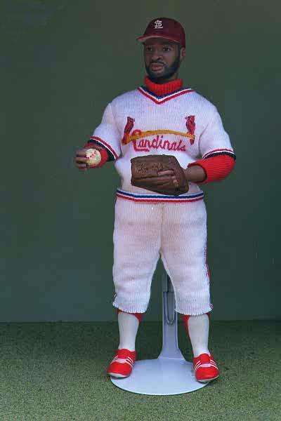 Miniature Doll of Ozzie Smith