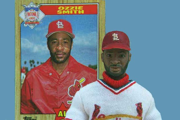 This is a Portrait Doll of Ozzie Smith