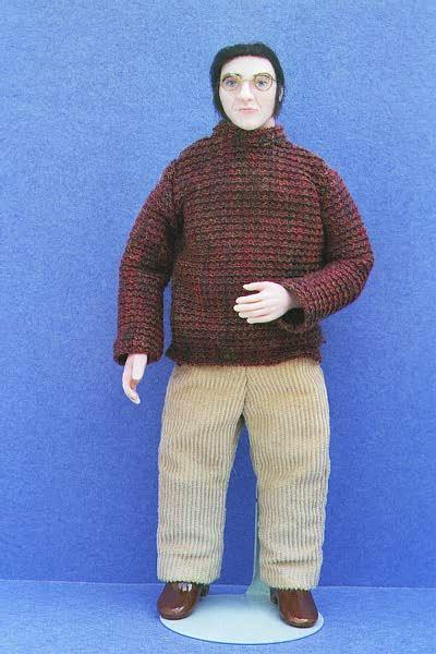 Miniature Doll of James